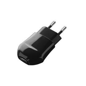 Зарядное устройство  Deppa (23123), USB 1000 mA, черный