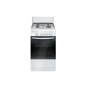 Плита Gefest 3200-08 К85, газовая, 4 конфорки, 42 л, газовая духовка, белая