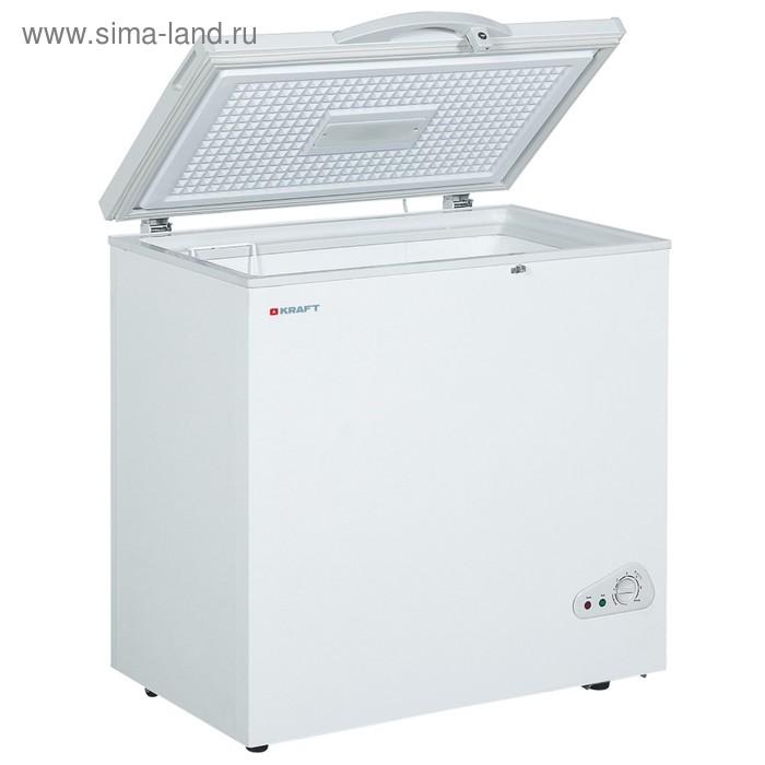 Морозильный ларь Kraft BD (W)200QX, 175 л, класс А, 98 Вт, белая