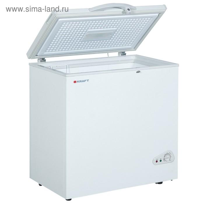 Морозильный ларь Kraft BD (W)225QX, 225 л, класс А, 107 Вт