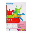 Бумага цветная А4, 50 листов Calligrata Пастель, 80 г/м², розовая
