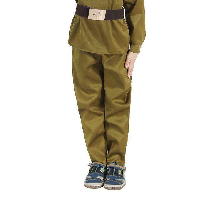 Штаны военного Галифе, детские, р-р 32, рост 128 см