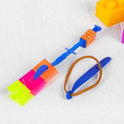 Ветрячок-рогатка, световой, цвета МИКС - Фото 1