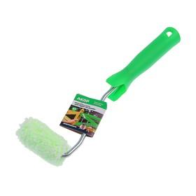 Мини-валик 'АКОР', микрофибра, 60 мм, ручка d=6 мм, D=15 мм, ворс 12 мм, для дерева Ош