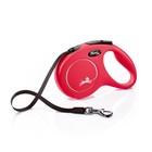 Рулетка Flexi  New Classic M (до 25 кг) лента 5 м, красная