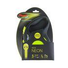 Рулетка Flexi New Neon L (до 50 кг) лента 5 м
