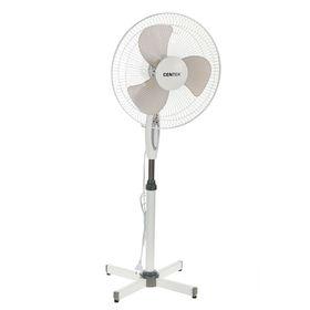 Вентилятор Centek CT-5004 GRAY, напольный, 40 Вт, 3 режима, фасовка по 2 шт, серый