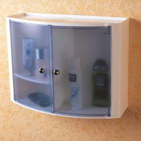 Настенный шкаф, цвет голубой Ош