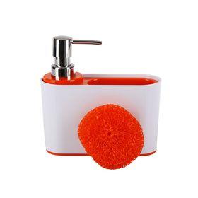 Дозатор для моющих жидкостей Sienna, цвет красный