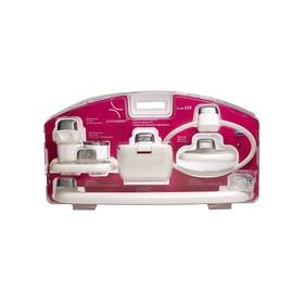 Комплект навесных аксессуаров для ванной и туалета, 6 предметов Ош