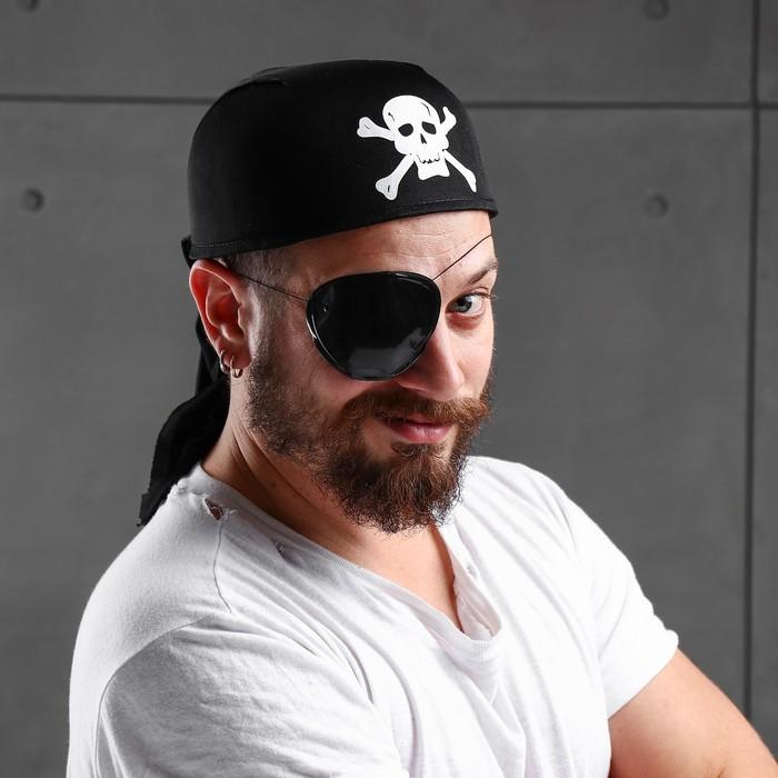 Бандана пирата «Череп», р-р. 56-58