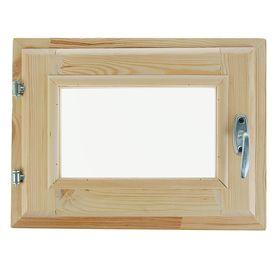 Окно, 30×40см, двойное стекло, с уплотнителем, из хвои Ош