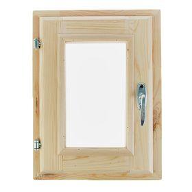Окно, 40×30см, двойное стекло, с уплотнителем, из хвои Ош