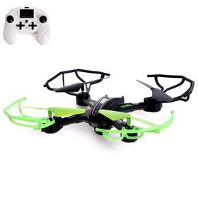 Квадрокоптер DH-X11DW, камера 0,3 Mpx, передача изображения на смартфон, Wi-Fi, барометр, цвет чёрно-зелёный Ош