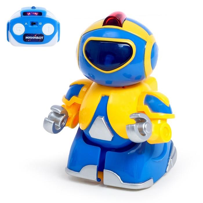 """Робот радиоуправляемый """"Минибот"""", световые эффекты"""