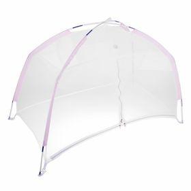 Манеж-палатка для ребёнка, москитная сетка на молнии, цвета МИКС Ош
