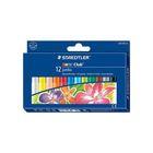 Пастель масляная художественная 12 цветов STAEDTLER Noris Club Jumbo