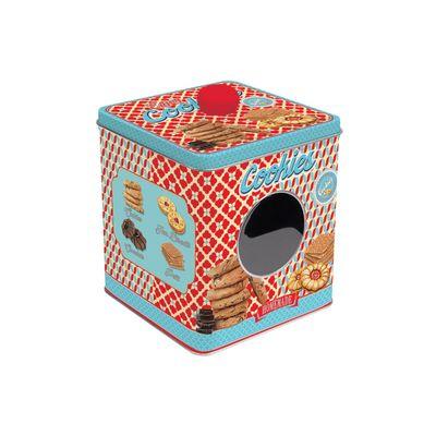 Банка для печенья «Сладости», 13 х 14 х 13 см