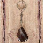 Брелок из яшмы «Саранск», натуральный камень