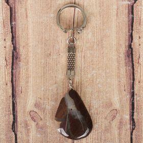 Брелок из яшмы «Саранск», натуральный камень Ош