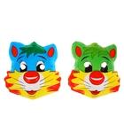 Карнавальная маска «Котярик - большие щечки»