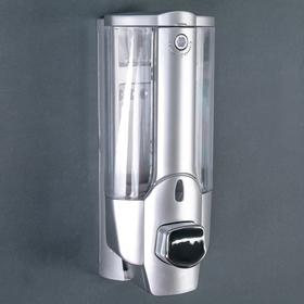 Диспенсер для жидкого мыла настенный Accoona A183, 350 мл, пластик, цвет серый Ош