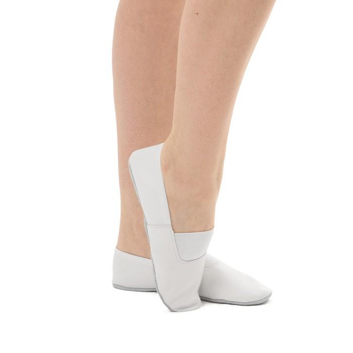Чешки комбинированные, цвет белый, размер 150 длина стопы 16,8 см