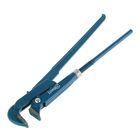 Ключ трубный Hardax, рычажный, №2, раскрытие губ 20-50 мм, 90° L-Type, прямые губы