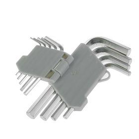 Набор ключей имбусовых Hardax, 6 граней, 9 предметов