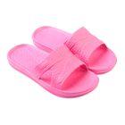 Сланцы для девочки «Степ» цвет розовый, размер 29-30