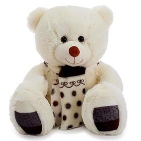 Мягкая игрушка «Медведь Мартин», цвет молочный, 90 см