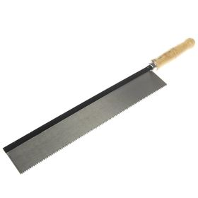 """Пила обушковая """"КУРС"""", деревянная ручка, 300 мм"""