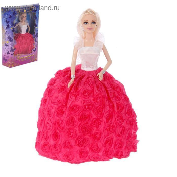 Кукла модель «Принцесса Кейт» в бальном платье, МИКС ...