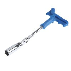 Ключ свечной TUNDRA, с карданным шарниром, 16 мм