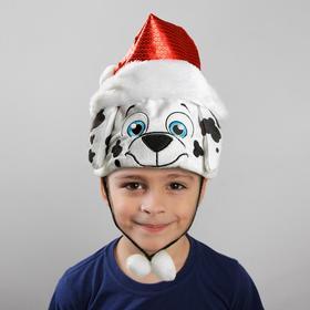 Карнавальная шляпа 'Далматинец' в колпаке Ош