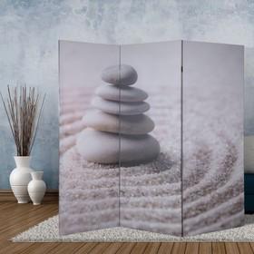 Ширма 'Камни на песке', 160 × 150 см Ош