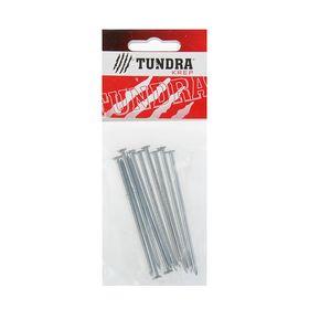 Гвоздь строительный TUNDRA krep, 3х80 мм, оцинкованный, в упаковке 10 шт. Ош