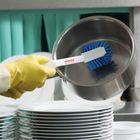 Щётка Vileda для мытья посуды, жёсткая, цвет голубой - Фото 2