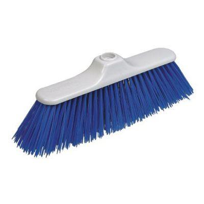Щётка «Экономик», мягкая, цвет синий, 30 см - Фото 1