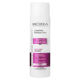 Шампунь Kora «Биобаланс», для жирных и нормальных волос, 250 мл