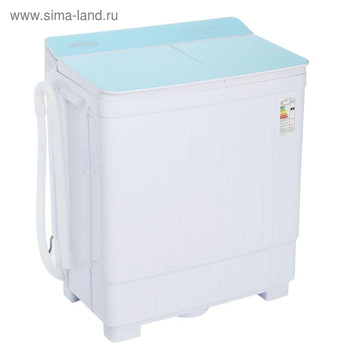 Стиральная машина Optima МСП-50СТ, полуавтомат, до 5 кг, 1350 об/мин, бирюзовая