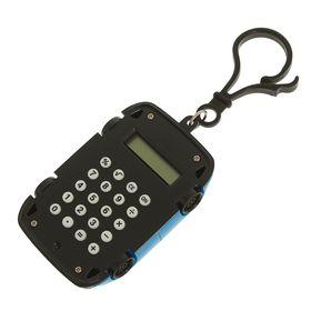 Калькулятор-брелок, «Машина», 8-разрядный, МИКС Ош