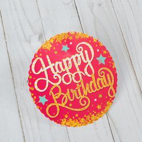 Открытка 'Happy birthday' Ош