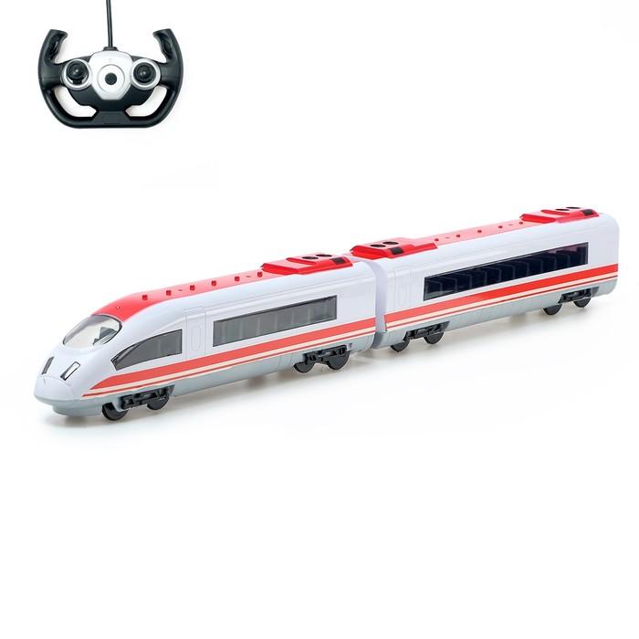 Поезд радиоуправлемый «Стрела», работает от аккумулятора, свет