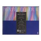 Альбом для акварели хлопок, холодное прессование, C3, 320 х 410, Fabriano Acquarello, 12 листов, 300 г/м2, склейка, фин