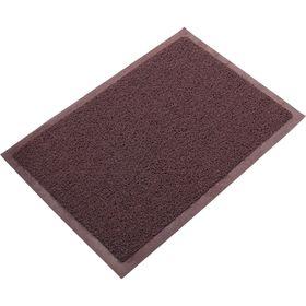 Ковёр пористый, цвет коричневый