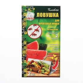 Клеевая ловушка от ФРУКТОВОЙ МУШКИ, 2 шт. в упаковке Ош