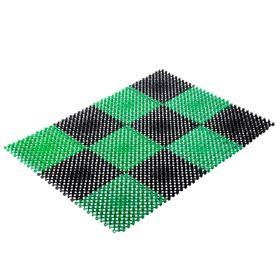 Ковёр трава, цвет чёрно-зелёный