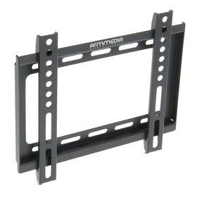 Кронштейн ARM Media STEEL-5, для ТВ, фиксированный, 15-47', 20 мм от стены, черный Ош