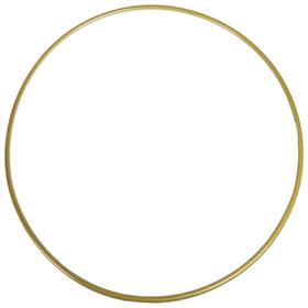 Обруч гимнастический, стальной, d=90 см, стандартный, 900 г, цвет золотой Ош
